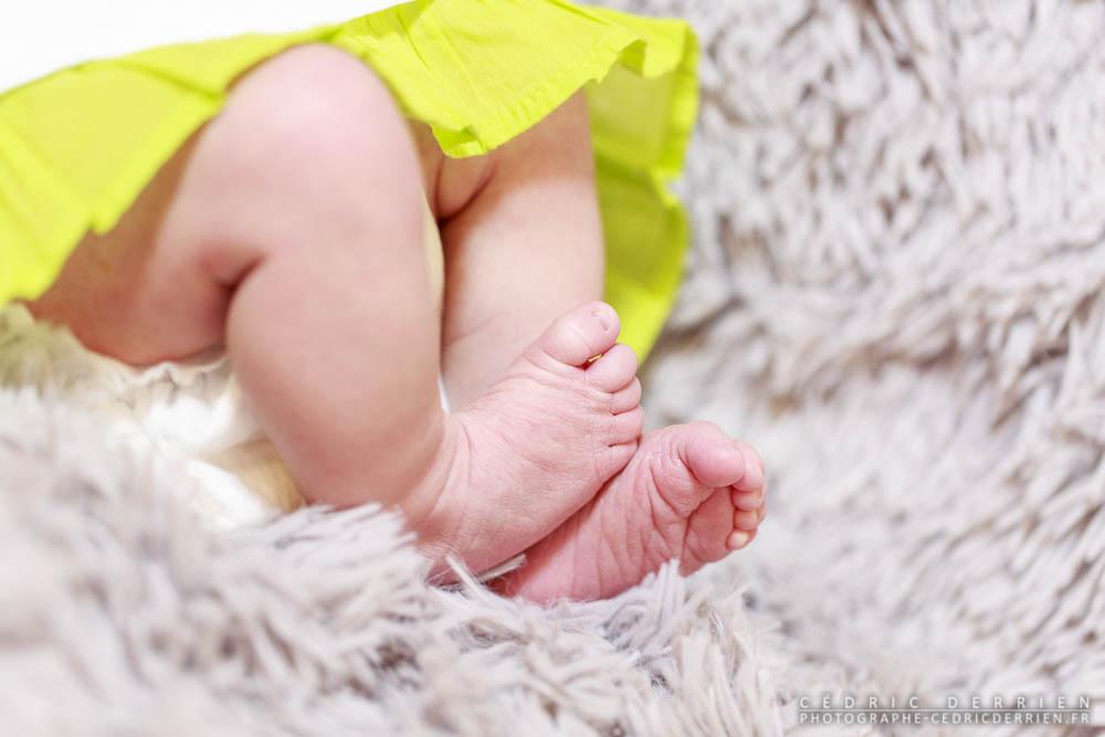 La séance nouveau-né d'Anaé – 1 semaine