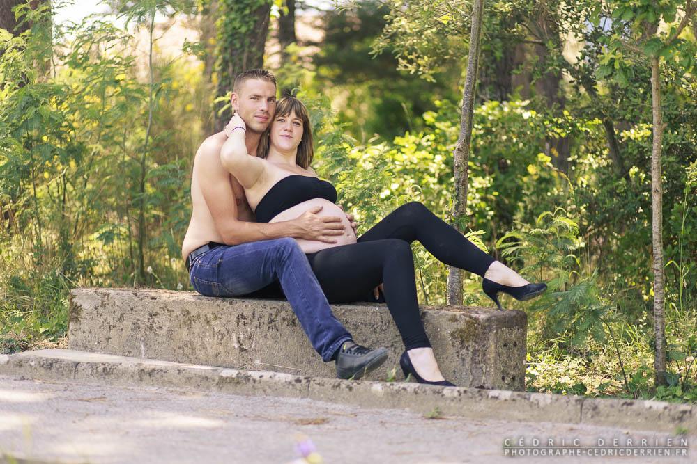 Séance maternité de Laure et Clément à la Paracou