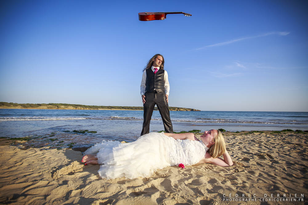 Trash The Dress de Marion et Olivier