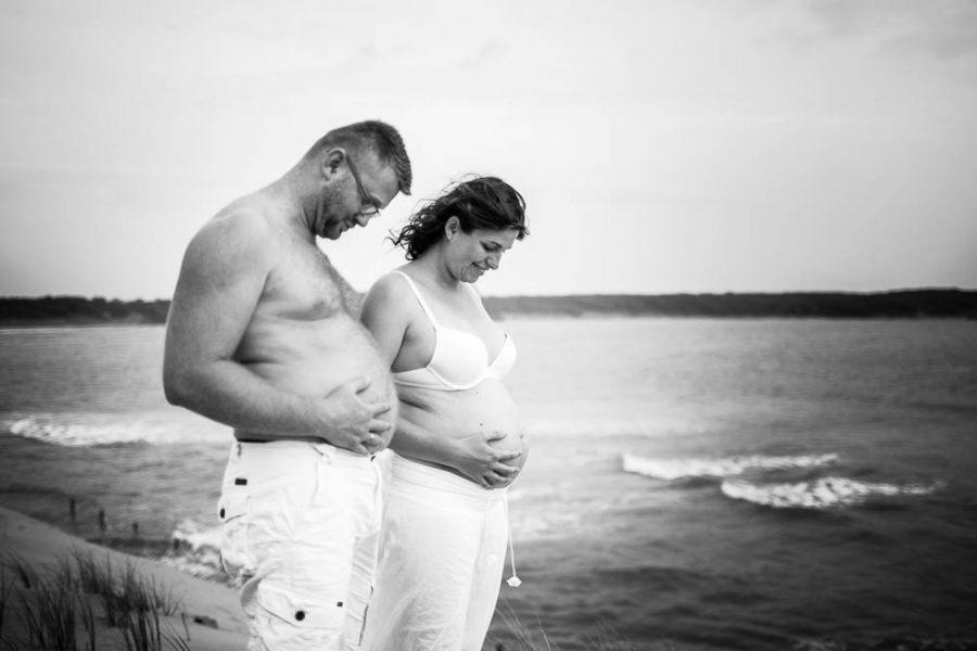 Futurs parents Talmont Saint Hilaire Cynthia et Julien
