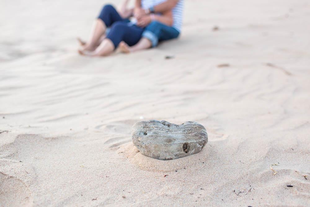 seance famille sur la plage du veillon