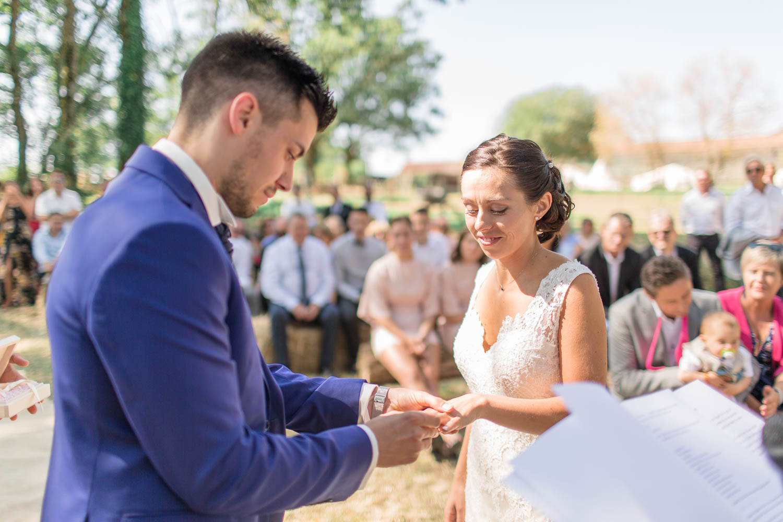 Mariage au Logis de Réputé
