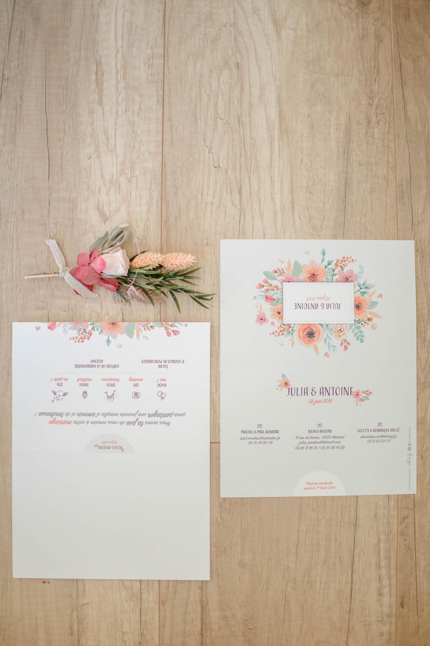 Mariage à la Marronnière Julia et Antoine