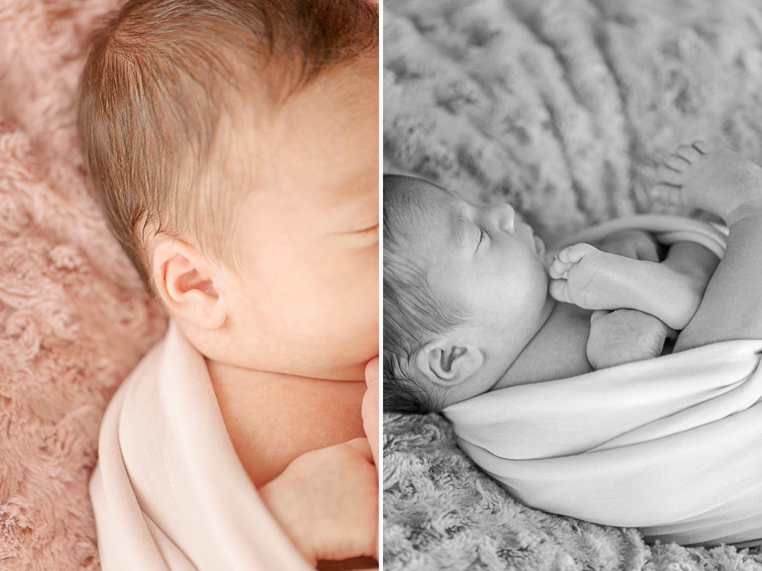 Julia nouveau-né